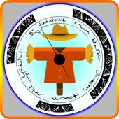 Large Circle Fighting icon