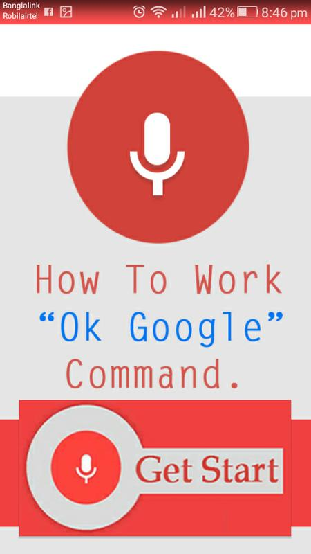 Command of ok google para android apk baixar command of ok google cartaz stopboris Images