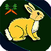 Rabbit Looking For Carrot icon