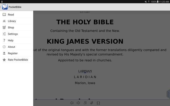 PocketBible Bible Study apk screenshot