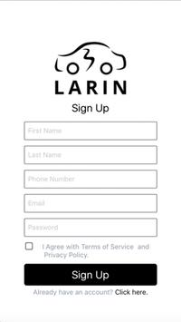 Larin apk screenshot