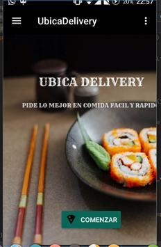 Ubica Delivery apk screenshot