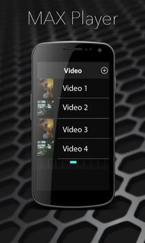 MAX Video HD Player apk screenshot