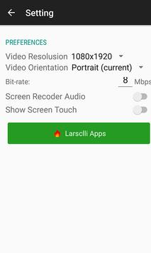 REC Screen Recorder no Root apk screenshot