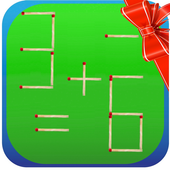 Matchstick Puzzle Matches Math icon