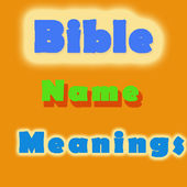 Bible Names and Meanings icon
