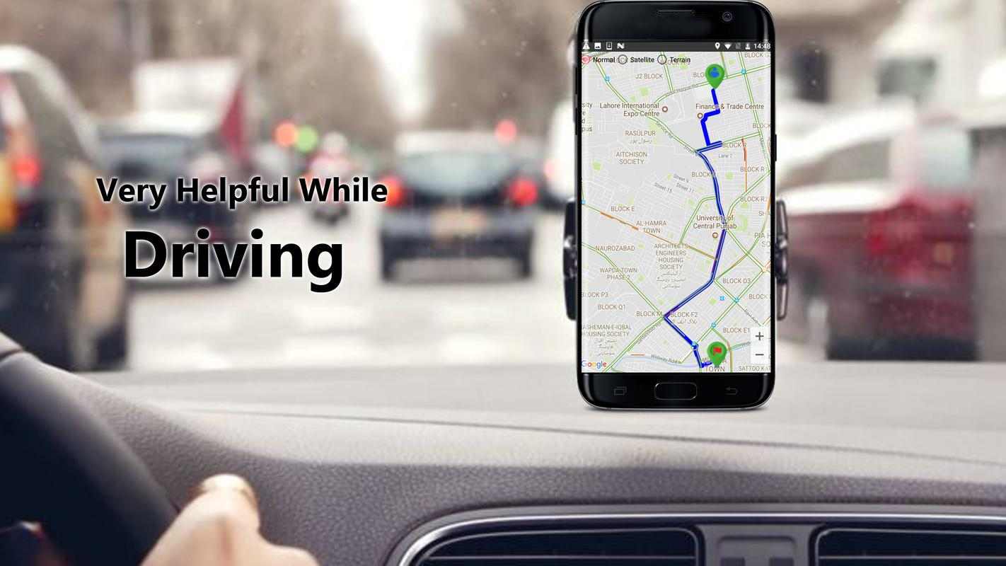 gps tracker driving route finder: maps navigation for android - apk