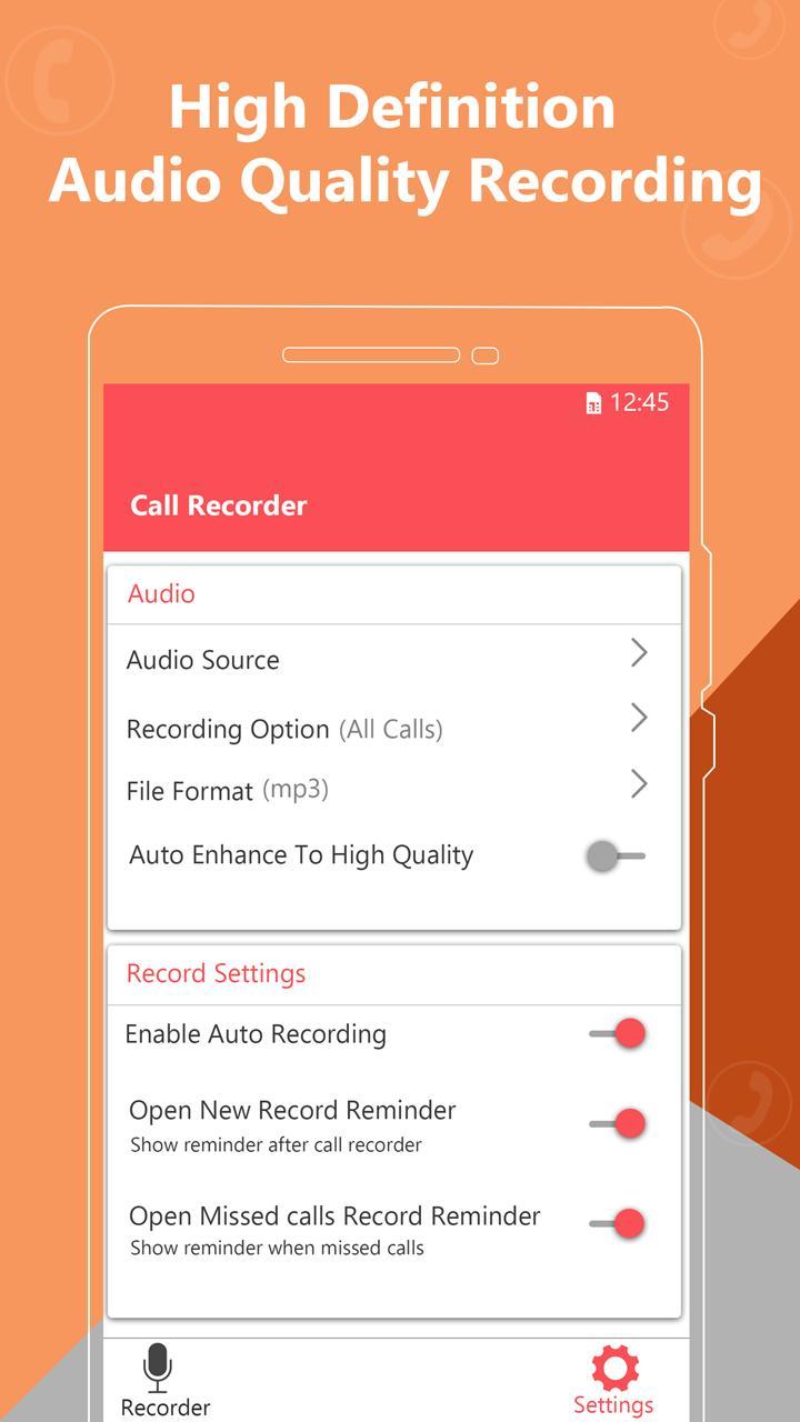 Call blocker : Smart voice recorder poster