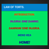 Law of Torts- Revision notes. icon