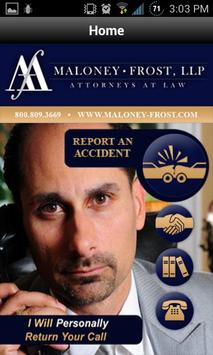 Maloney-Frost, LLP poster