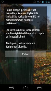Roska-Roope poster