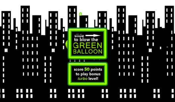 The Green Balloon apk screenshot