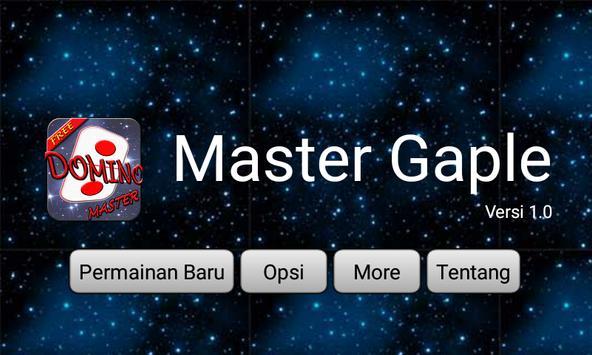 Master Domino poster