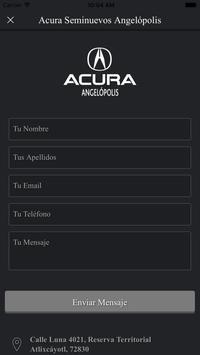 Acura Angelópolis apk screenshot