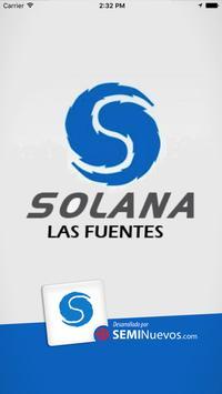 Chevrolet Solana las Fuentes poster