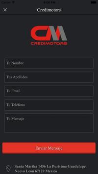 Credimotors apk screenshot