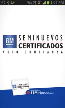 Seminuevos Chevrolet poster