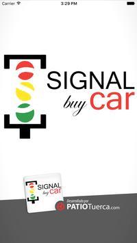 Signal buy car poster