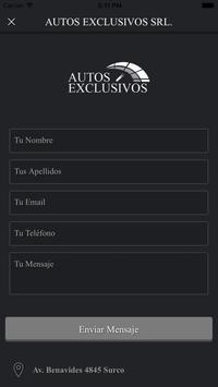 Autos Exclusivos screenshot 4