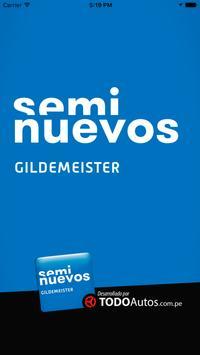 Seminuevos Gildemeister poster
