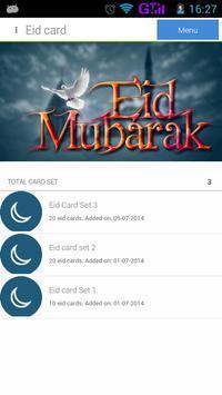 Eid Greetings poster
