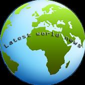 Latest world news icon