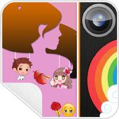 Love Stickers Photo Editor icon