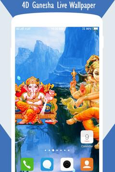 4D Ganesha Live Wallpaper screenshot 2