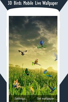 3D Birds Live Wallpaper screenshot 4