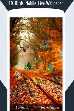 3D Birds Live Wallpaper screenshot 1