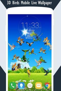 3D Birds Live Wallpaper screenshot 2