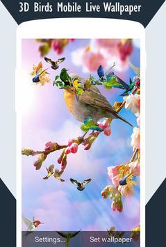 3D Birds Live Wallpaper screenshot 3