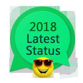 2018 New Status for Whatsapp icon