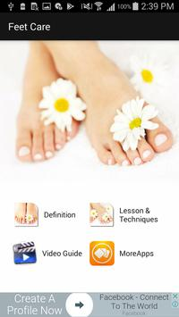 Foot Care Tips poster