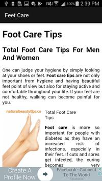 Foot Care Tips screenshot 1