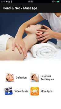 Head & Neck Massage Techniques poster