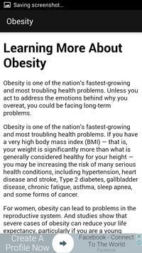 Obesity screenshot 1
