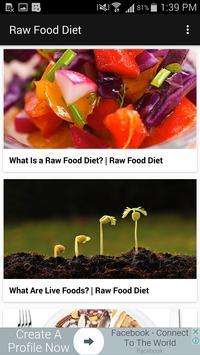 Raw Food Diet Guide apk screenshot