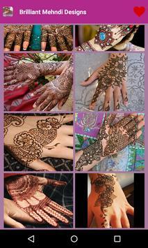 Brilliant Mehndi Designs apk screenshot