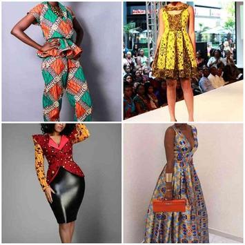 Kitenge Fashion Style Ideas poster