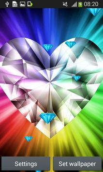 Diamond Live Wallpapers apk screenshot