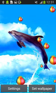 Dolphins Live Wallpapers poster