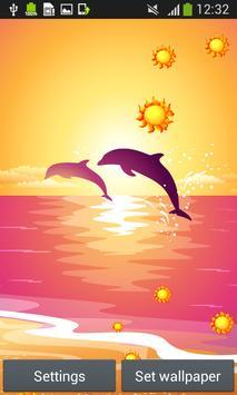 Dolphins Live Wallpapers apk screenshot