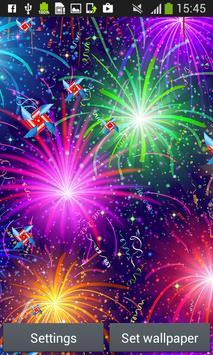 Fireworks Live Wallpapers apk screenshot
