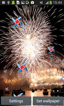 Fireworks Live Wallpapers apk screenshot
