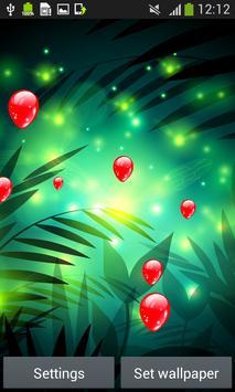 Fireflies Live Wallpapers apk screenshot