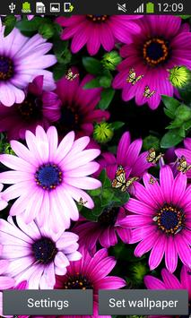 Flowers Live Wallpapers apk screenshot