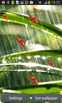 Rain Live Wallpapers apk screenshot