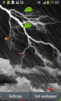 Storm Live Wallpapers screenshot 3
