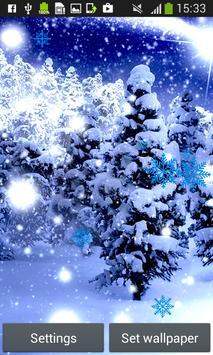 Snowfall Live Wallpapers poster
